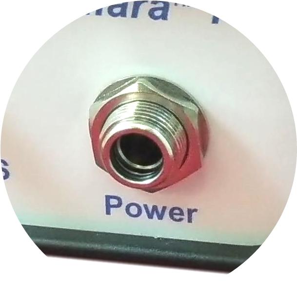 Secure power connectors
